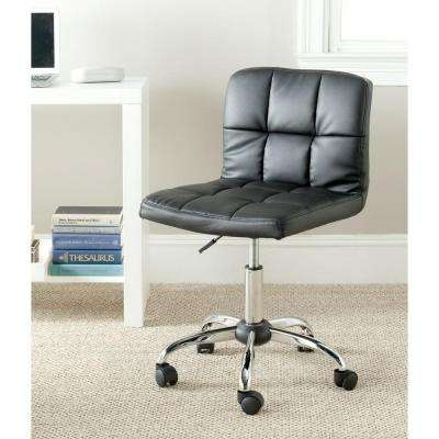 Brunner Black Faux Leather Office Chair