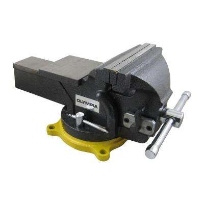 6 in. Single-Handed Operation Bench Vise