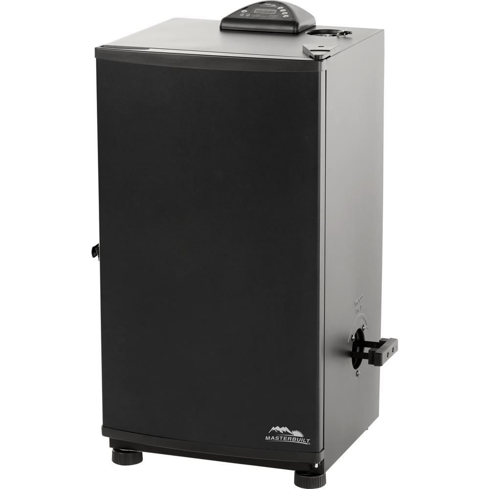 Masterbuilt 30 in black electric smoker 20071117 the for Smoked fish in masterbuilt electric smoker