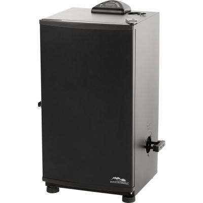 30 in. Black Electric Smoker
