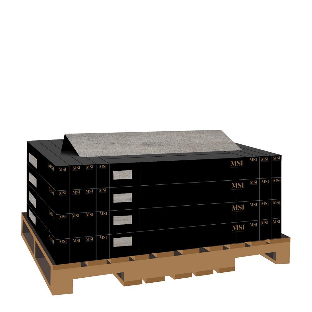 Aubrey Sea Isle Gray 9 in. x 60 in. Rigid Core Luxury Vinyl Plank Flooring (48 cases/1077.12 sq. ft./pallet)