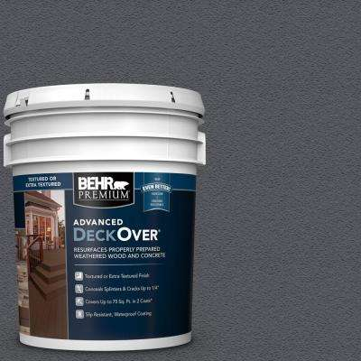 5 gal. #PFC-65 Flat Top Textured Solid Color Exterior Wood and Concrete Coating