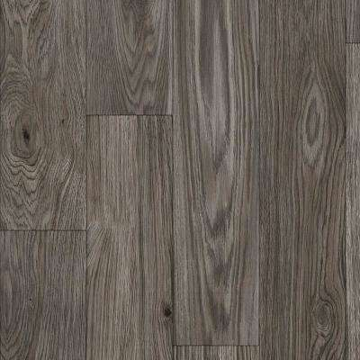 Stratamax Value Plus 12 ft. Width x Custom Length Alex Grey Residential Vinyl Sheet Flooring