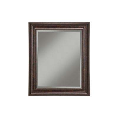 Oil Rubbed Bronze Decorative Wall Mirror