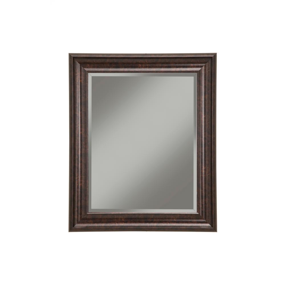 Oil Rubbed Bronze Decorative Wall Mirror