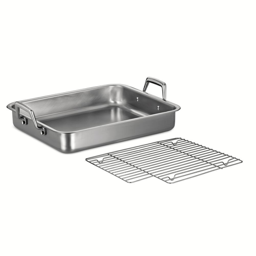 Tramontina Gourmet Prima 6.75 Qt. Stainless Steel Roasting Pan