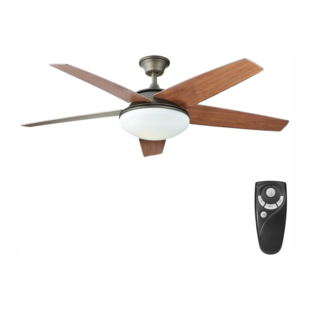 Home Decorators Collection Piccadilly 52 in. LED Indoor Espresso Bronze Ceiling Fan with Light Kit and Remote Control