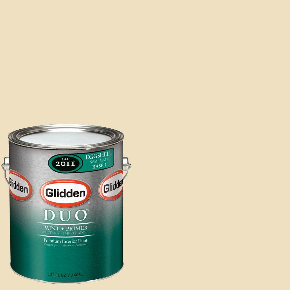 Glidden DUO Martha Stewart Living 1-gal. #MSL060-01E Macadamia Eggshell Interior Paint with Primer-DISCONTINUED