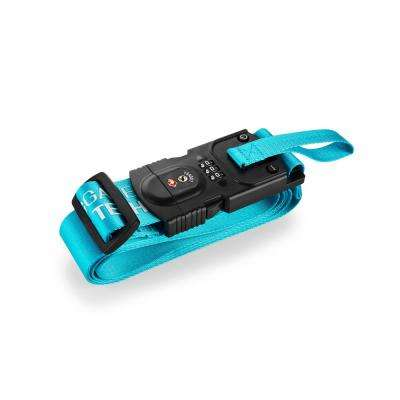 Smart Strap Bright Blue Luggage Strap