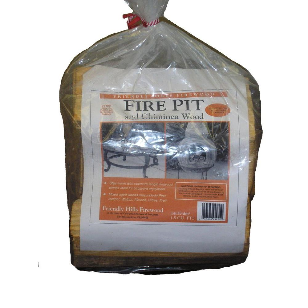California Redwood Products 20 Lb Fire Pit And Chiminea Wood 99955