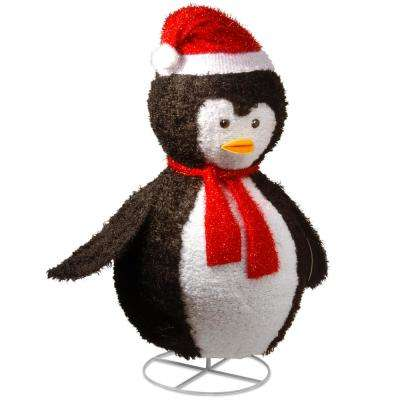 40 in. Pop-Up Penguin