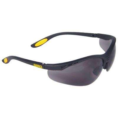 Safety Glasses Reinforcer with Smoke Lens