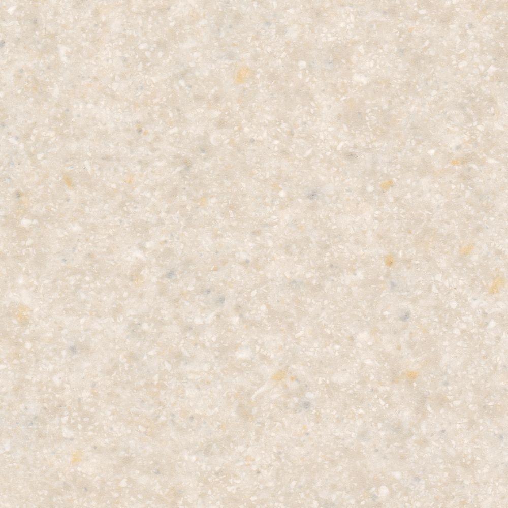 5 in. x 7 in. Laminate Countertop Sample in Carrara Envision with Matte Finish