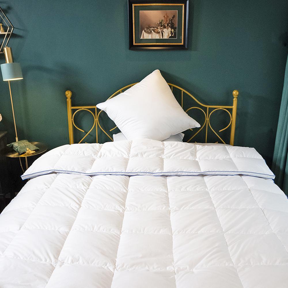 Soft White Wash Full Size All Season Goose Down Comforter