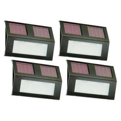 Bronze Solar Step Lights (4-Pack)