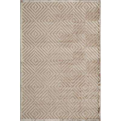 Platinum Taupe 5 ft. x 7 ft. 6 in. Indoor Area Rug
