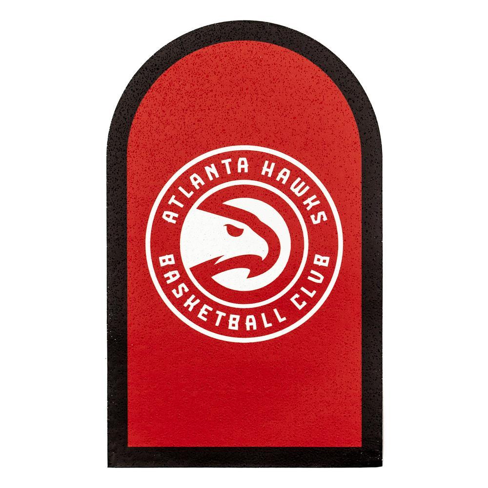 Nba Atlanta Hawks Mailbox Door Logo Graphic Nbma0101 The Home Depot