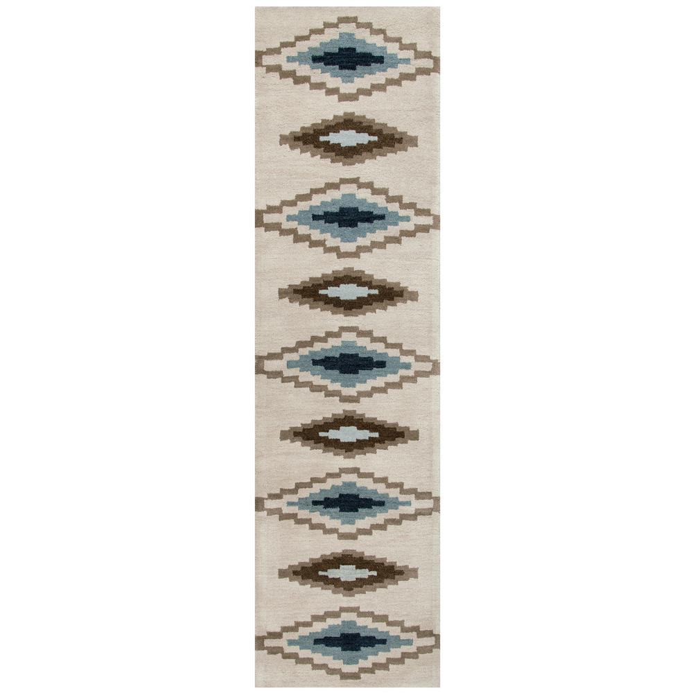 Rizzy Rugs Tumble Weed Loft Beige Southwestern 3 ft. x 8 ...