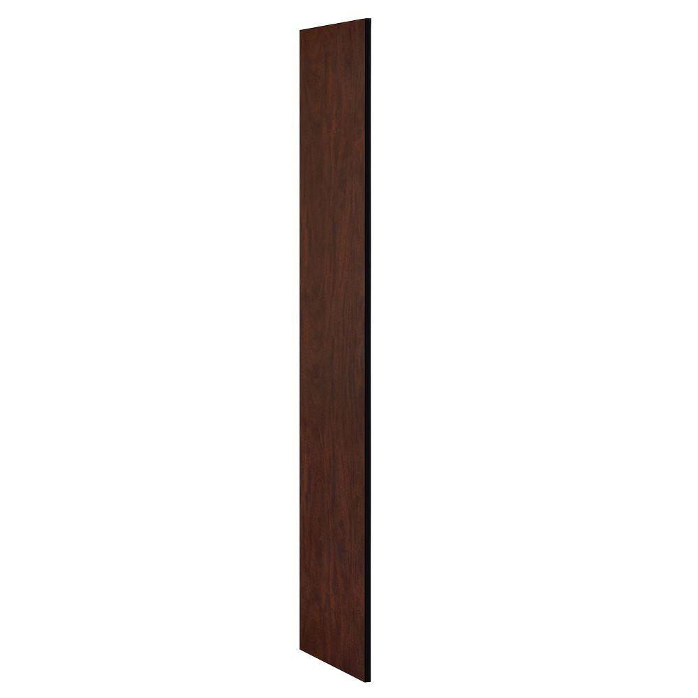 Extra Wide Designer Wood Side Panel for 18 in. Deep Extra