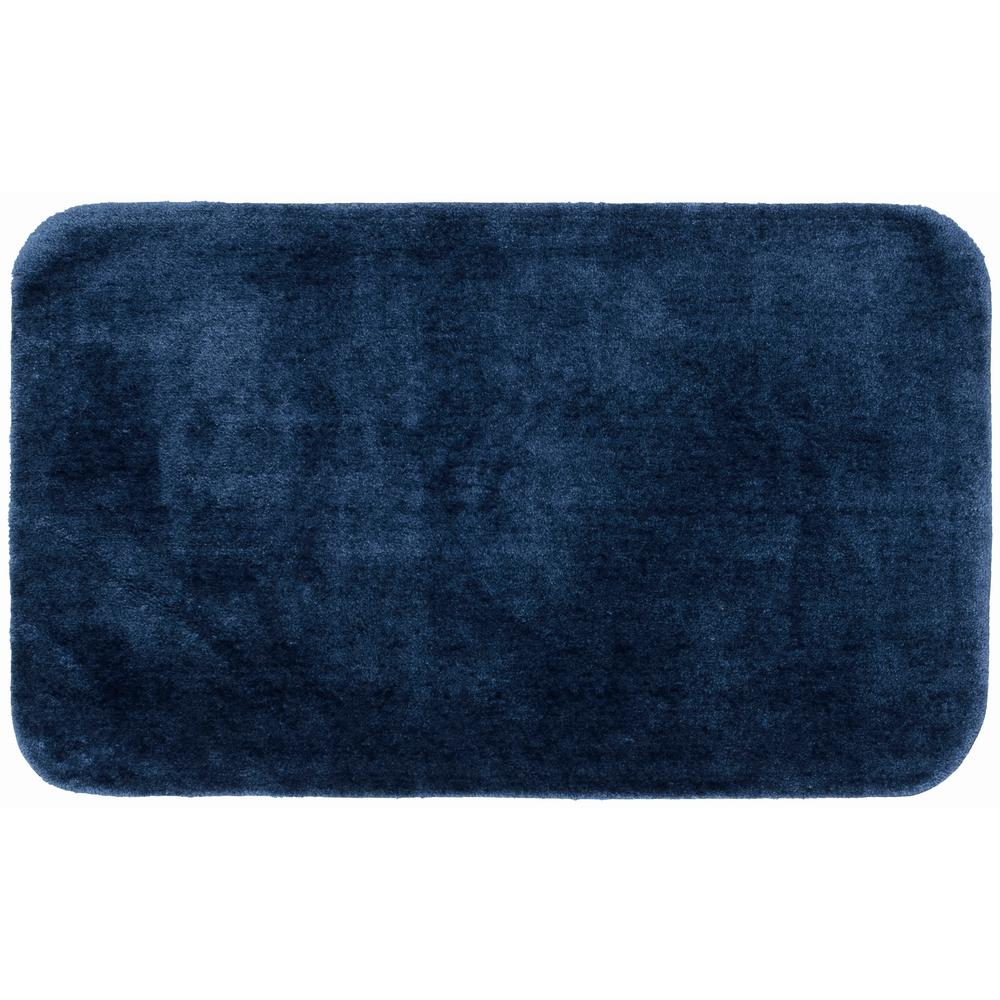 X 60 In Plush Nylon Bath Mat