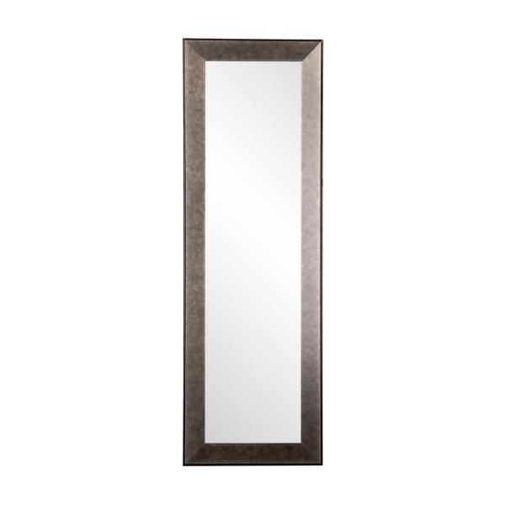 BrandtWorks Industrial Metal Slim Accent Mirror BM66THIN-L3