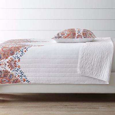 Tae White Full and Queen Quilt Set