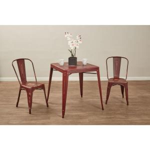 Exceptionnel OSP Designs Bristow Antique Red Metal Side Chair (Set Of 2) BRW29A2 ARD    The Home Depot