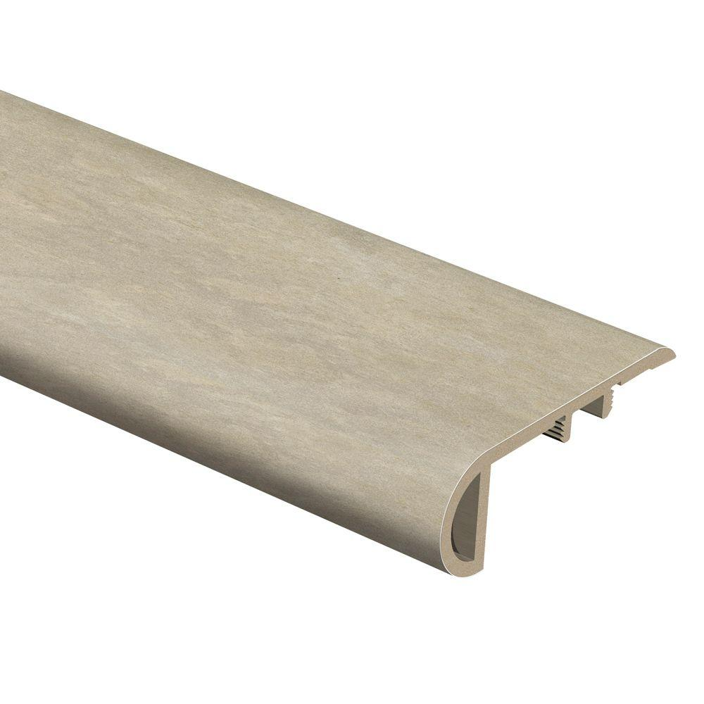 Zamma Ceramique Dawn 3/4 in. Thick x 2-1/8 in. Wide x 94 in. Length Vinyl Stair Nose Molding
