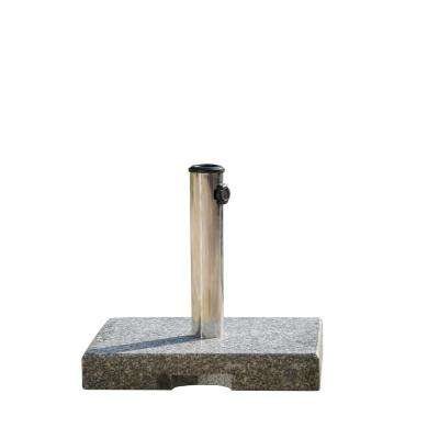 Granite Patio Umbrella Base in Grey