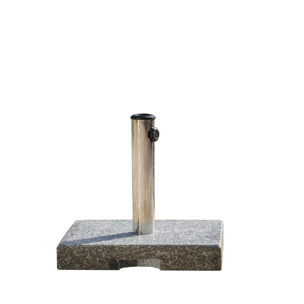 Granite Patio Umbrella Base in Grey