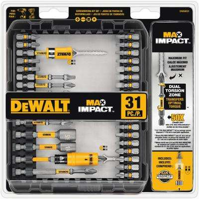 MAX Impact Screwdriving Set (31-Piece)