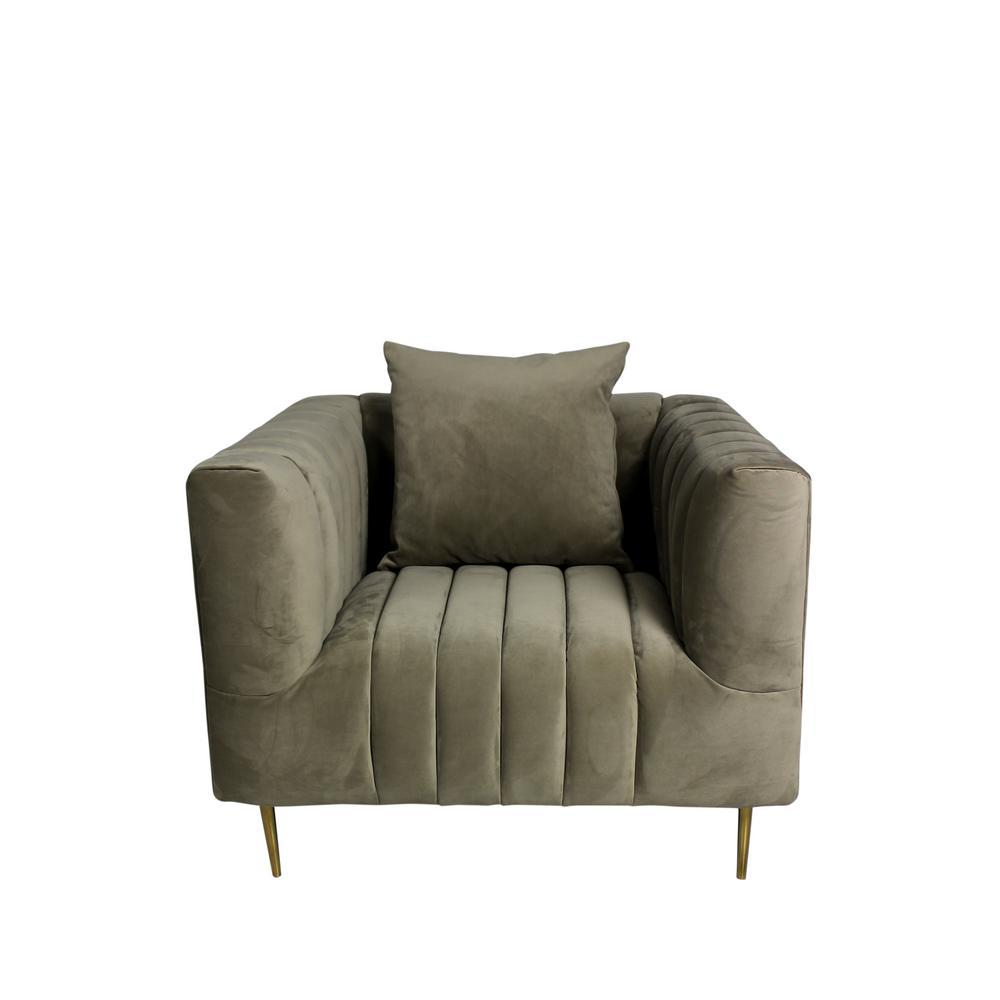 Rutland Lounge Chair in Beige