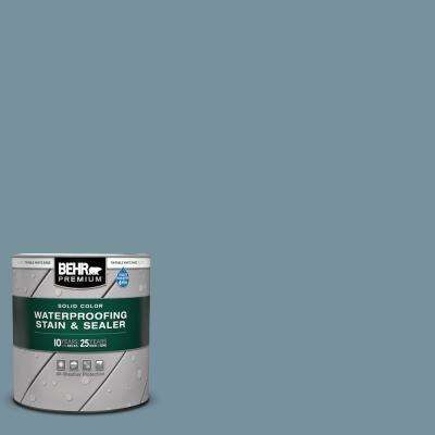1 qt. #SC-113 Gettysburg Solid Color Waterproofing Exterior Wood Stain and Sealer