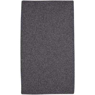 Candor Concentric Grey 8 ft. 6 in. x 8 ft. 6 in. Area Rug