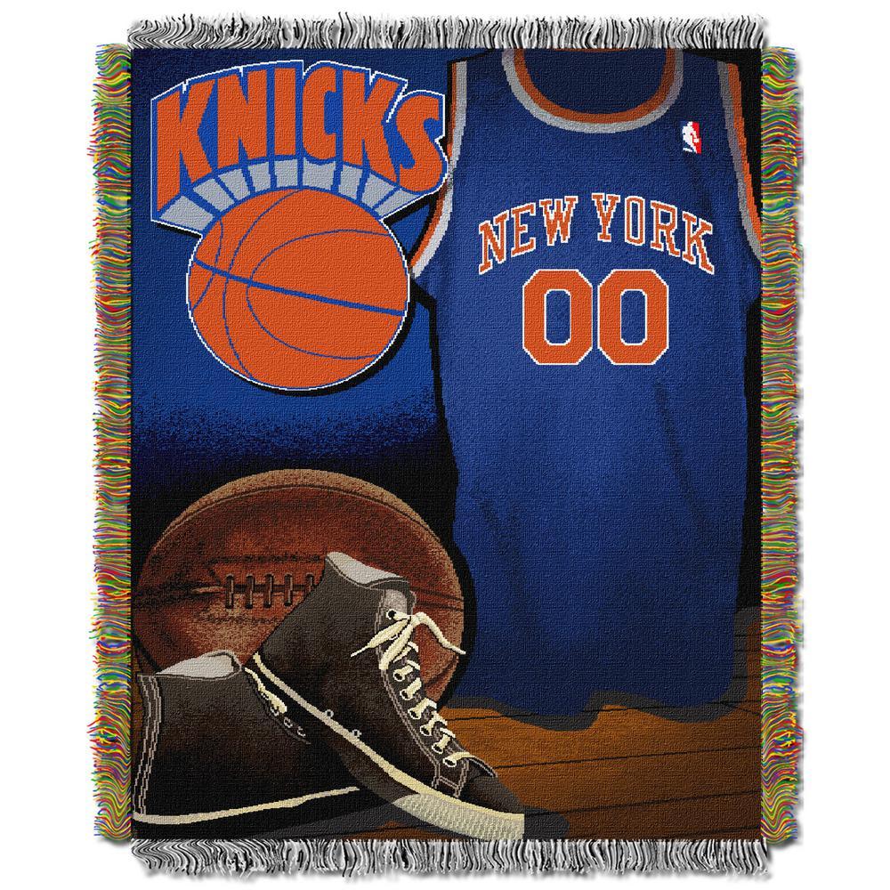 New York Knicks Polyester Throw Blanket