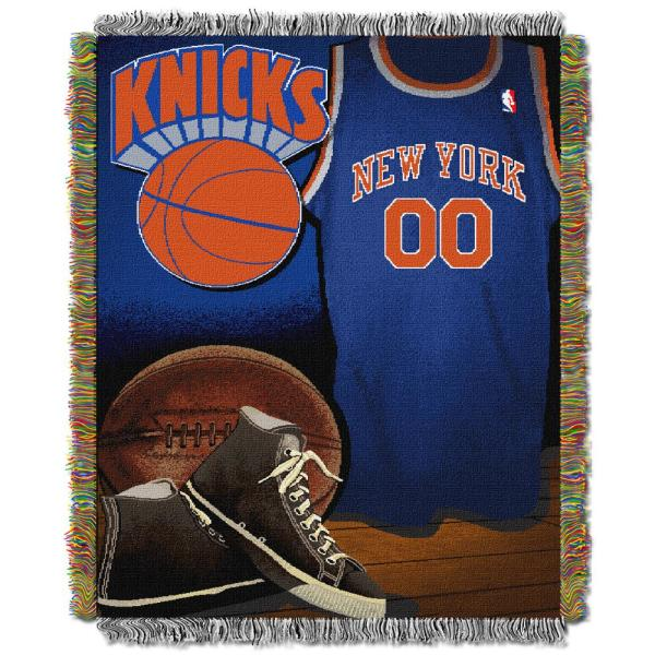 Knicks Vintage Multi Color Polyester Tapestry throw 1NBA051020018RET