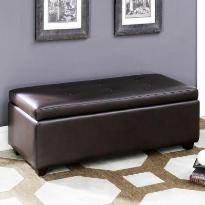 Leather - Bedroom Benches - Bedroom Furniture - The Home Depot