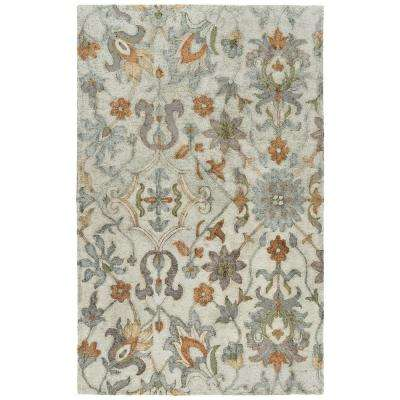 Zocalo Silver 9 ft. x 12 ft. Indoor/Outdoor Area Rug