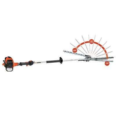 20 in. Reciprocating Double-Sided Articulating Gas Hedge Trimmer
