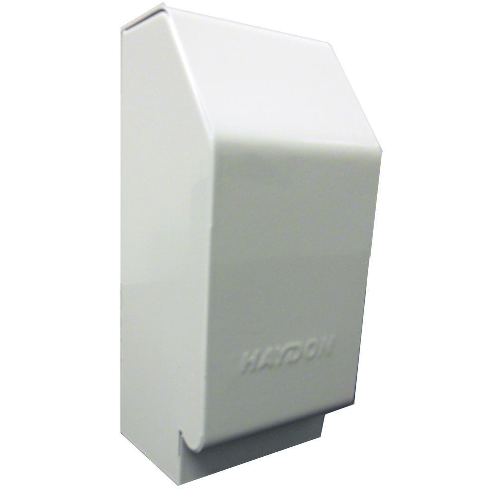 HAYDON Heat Base 750 3 in. Left-Hand End Cap for Haydon Baseboard Heaters