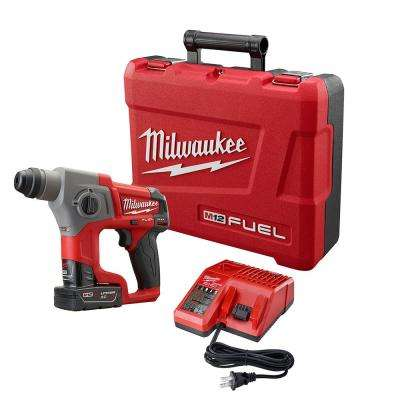 M12 FUEL 12-Volt Cordless Lithium-Ion 5/8 in. SDS-Plus Rotary Hammer Kit