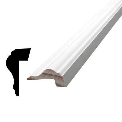 13/16 in. x 1-1/2 in. x 84 in. Primed Pine Finger-Jointed Panel Cap Moulding