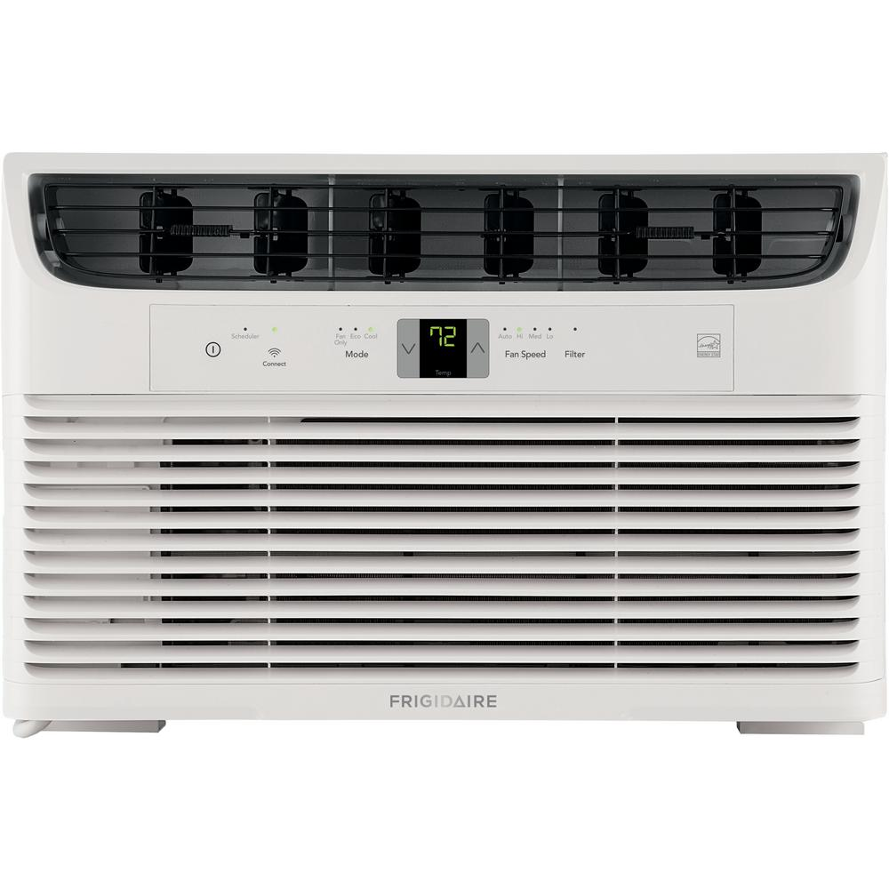 Frigidaire 8,000 BTU Window-Mounted Room Air Conditioner in White with Wi-Fi