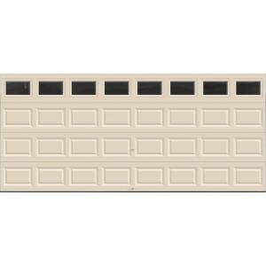 Clopay Value Series 16 Ft X 7 Ft Non Insulated Almond
