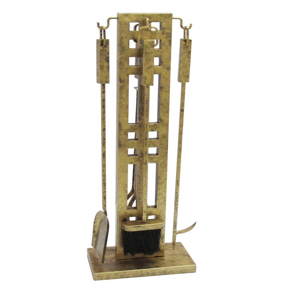 gold fireplace tools u0026 sets fireplace accessories u0026 parts