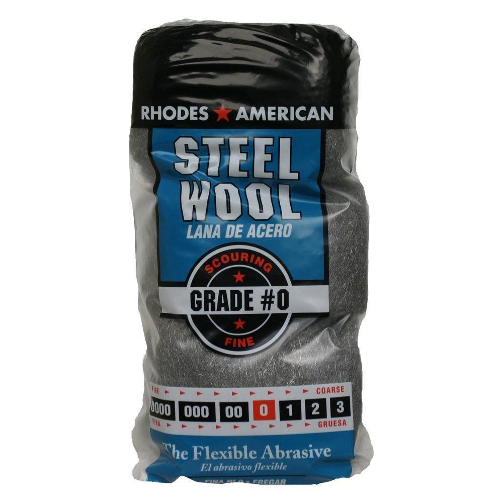 #0 12 Pad Steel Wool, Fine Grade
