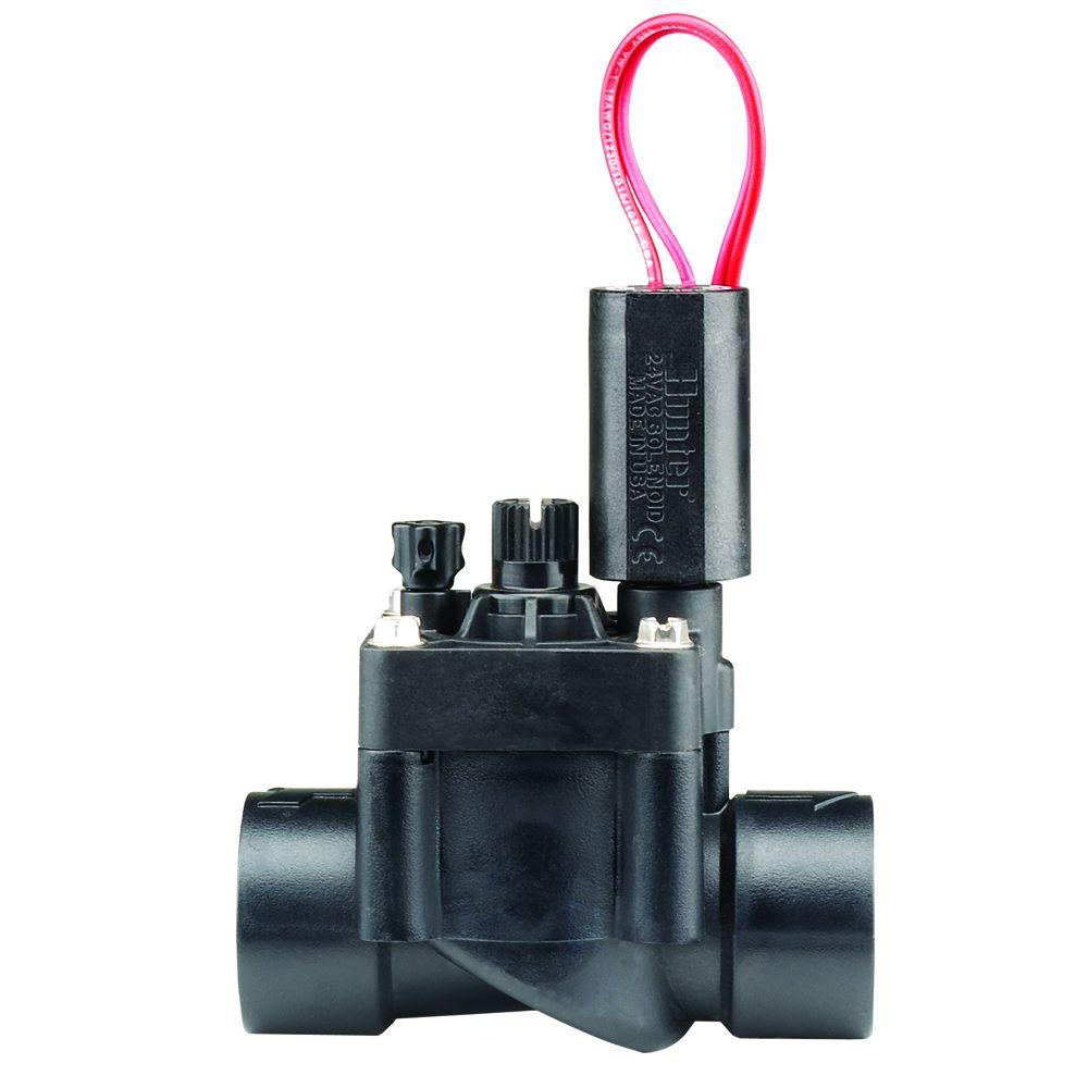 hunter industries 1 in pgv electric flow control female threaded valve