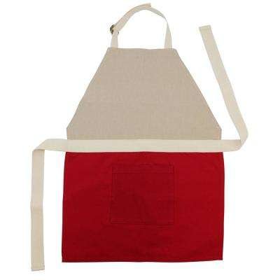 Red Children's Apron