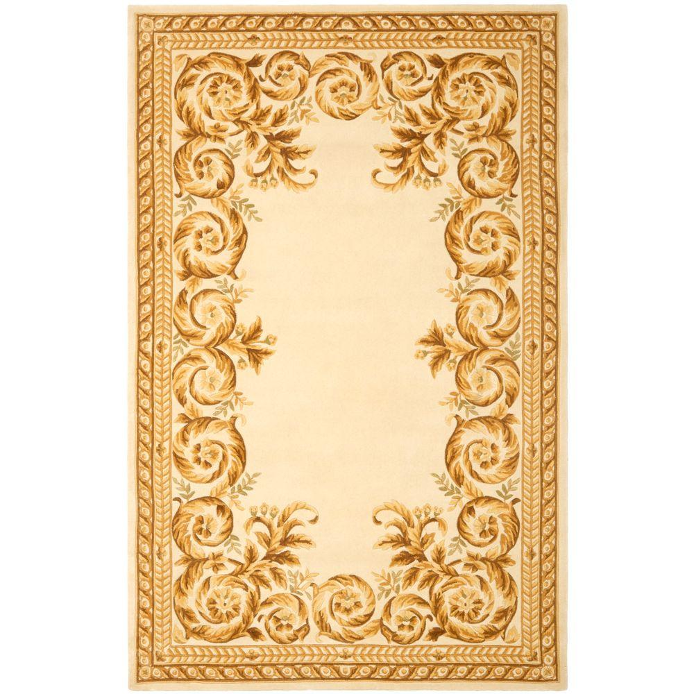 Safavieh Naples Assorted/Ivory 4 ft. x 6 ft. Area Rug