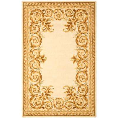 Naples Assorted/Ivory 4 ft. x 6 ft. Area Rug